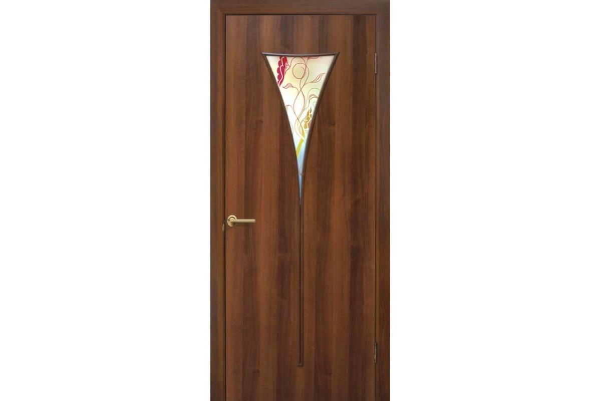 Фото Дверь ПВХ Омис Рюмка2 ПВХ СС+ФП, Парус СС+КР  с официального сайта OSKAR™