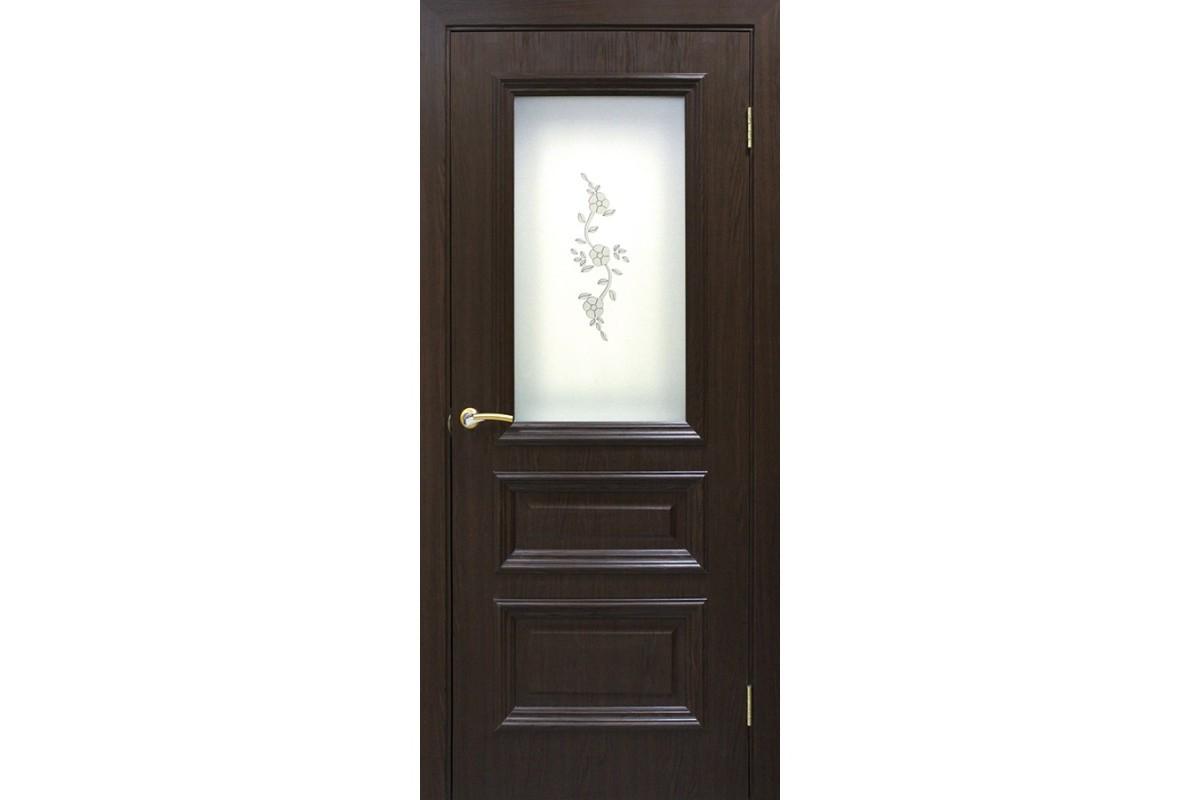 Фото Дверь ПВХ Омис Сан Марко 1.2 СС+ФП с официального сайта OSKAR™