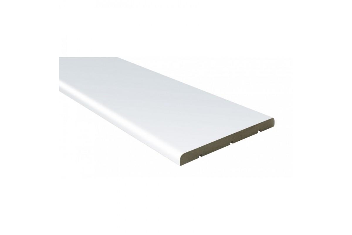 Фото Доборная доска Омис Cortex Deco100мм, 2024мм, в уп. 1 кмпл. (2,5 шт. в кмпл.) бел с официального сайта OSKAR™