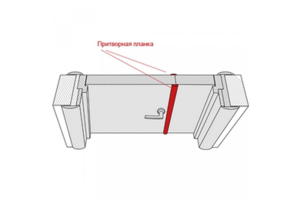 Фото Притворная планка МДФ ТМ DOORS Экошпон с официального сайта OSKAR™