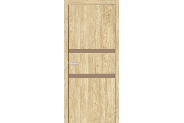 """Дверь """"МДФ Омис"""" Зеркало 4.2 (зеркало бронза)"""