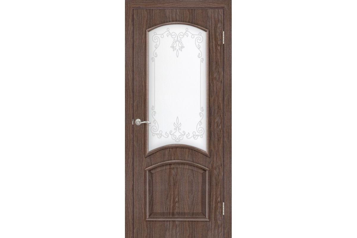 Фото Дверь ПВХ Омис Адель2 СС+КР с официального сайта OSKAR™