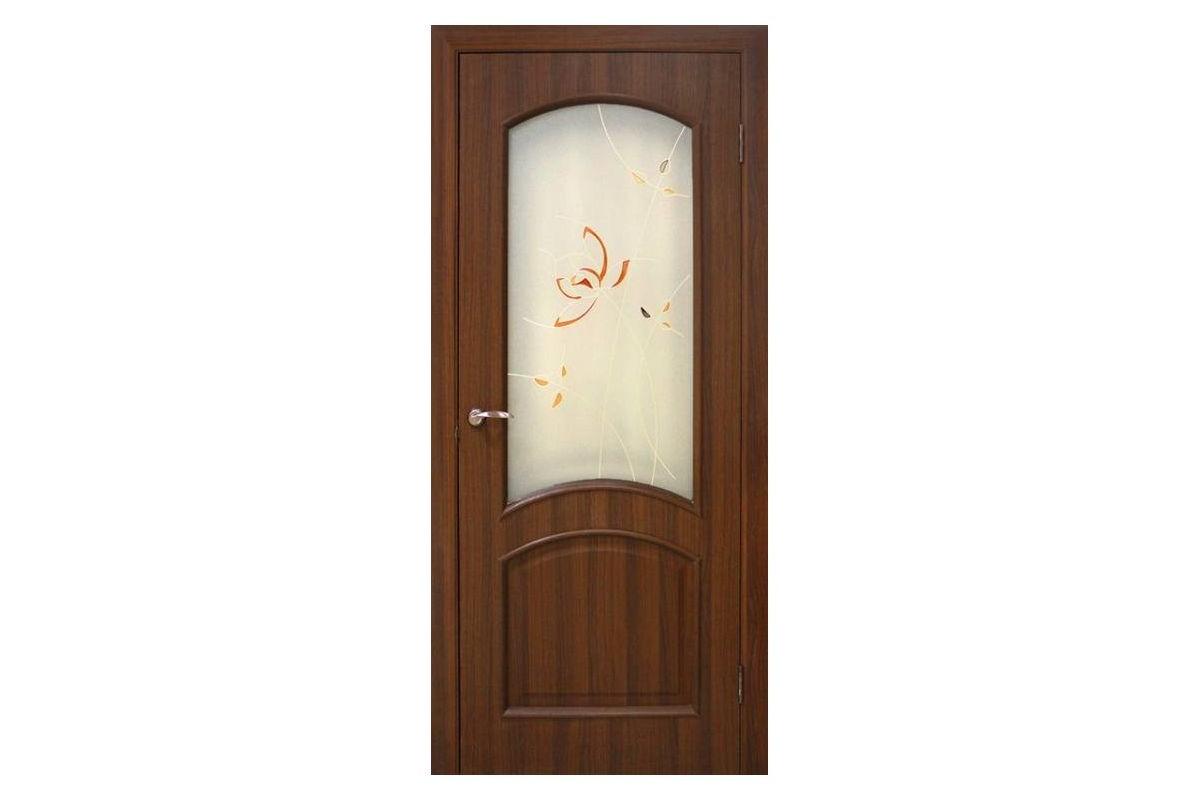 Фото Дверь ПВХ Омис Адель СС+КР с официального сайта OSKAR™