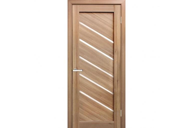 Дверь ПВХ Омис Диана ПВХ стекло сатин