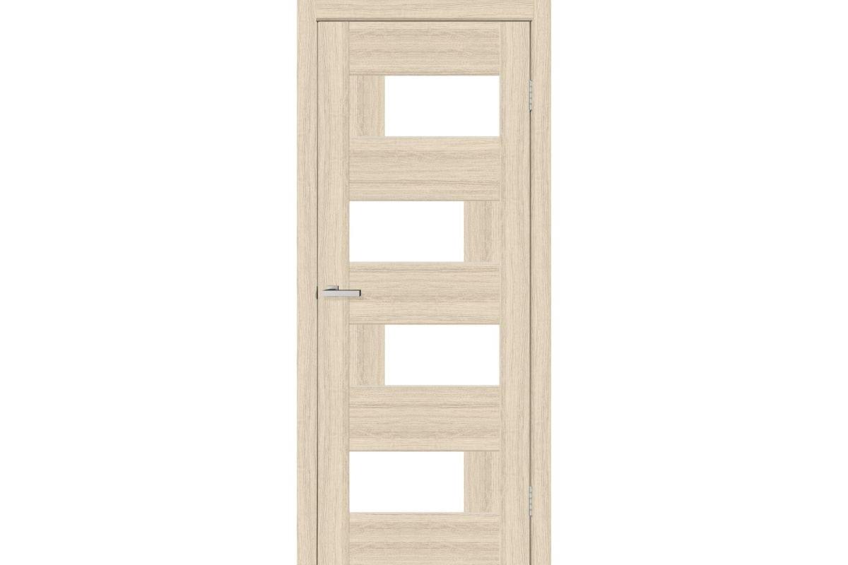 Фото Дверь ПВХ Омис Домино2 ПВХ стекло САТИН с официального сайта OSKAR™