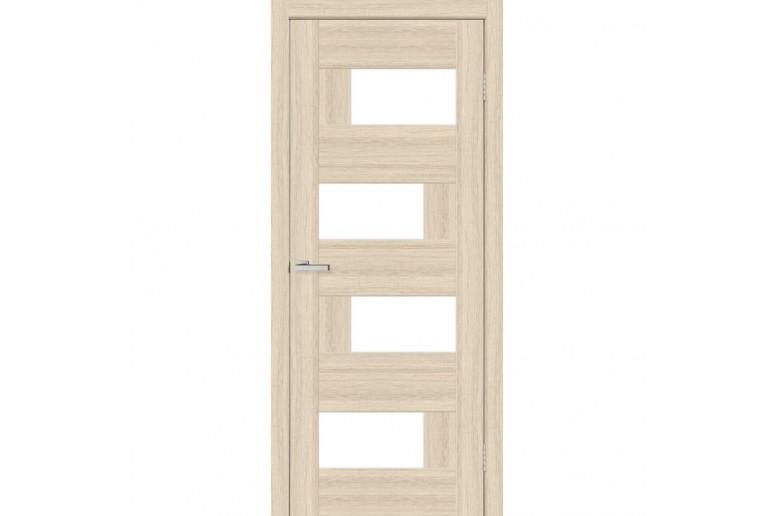 Дверь ПВХ Омис Домино2 ПВХ стекло САТИН