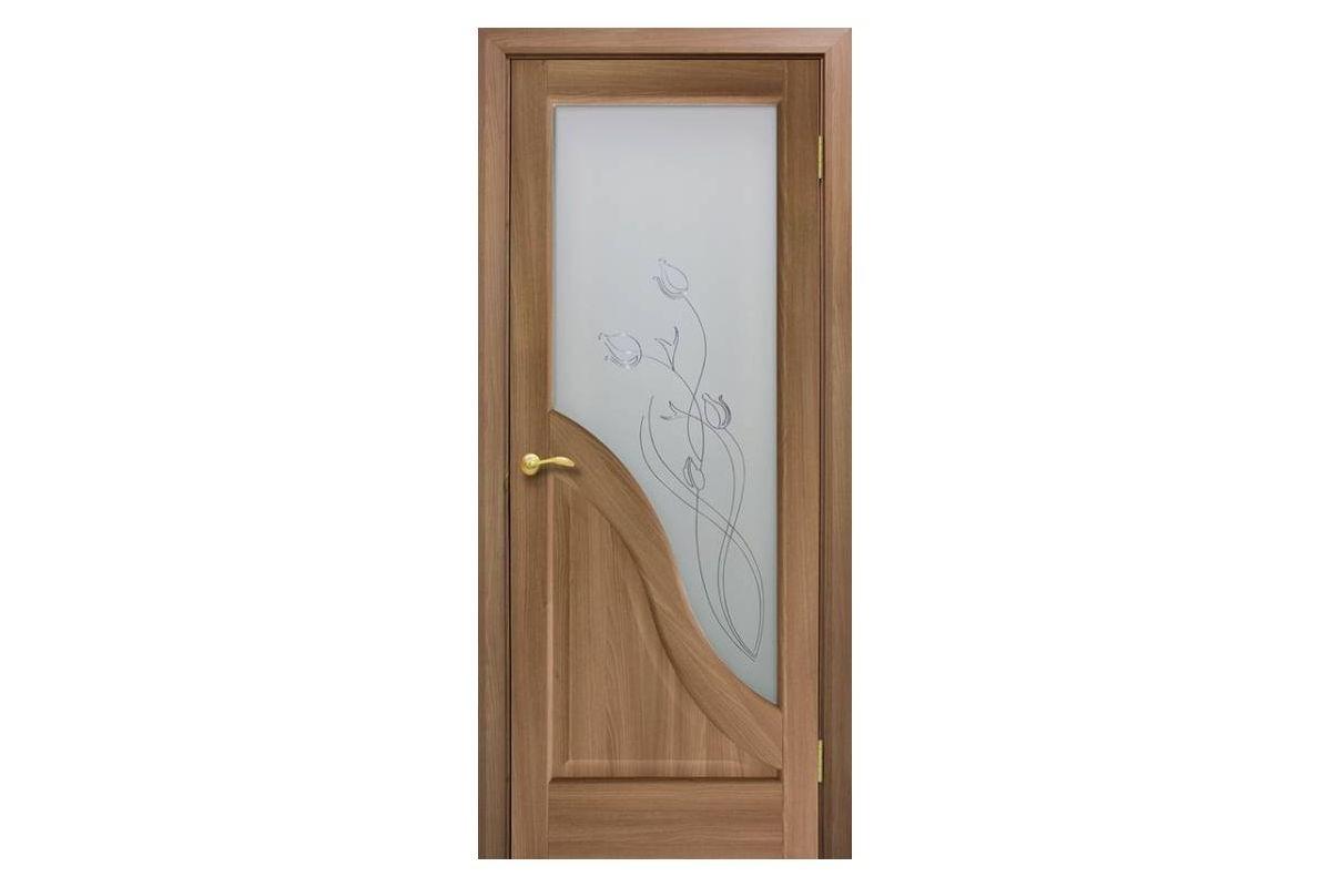 Фото Дверь ПВХ Омис Габриэлла СС+КР с официального сайта OSKAR™