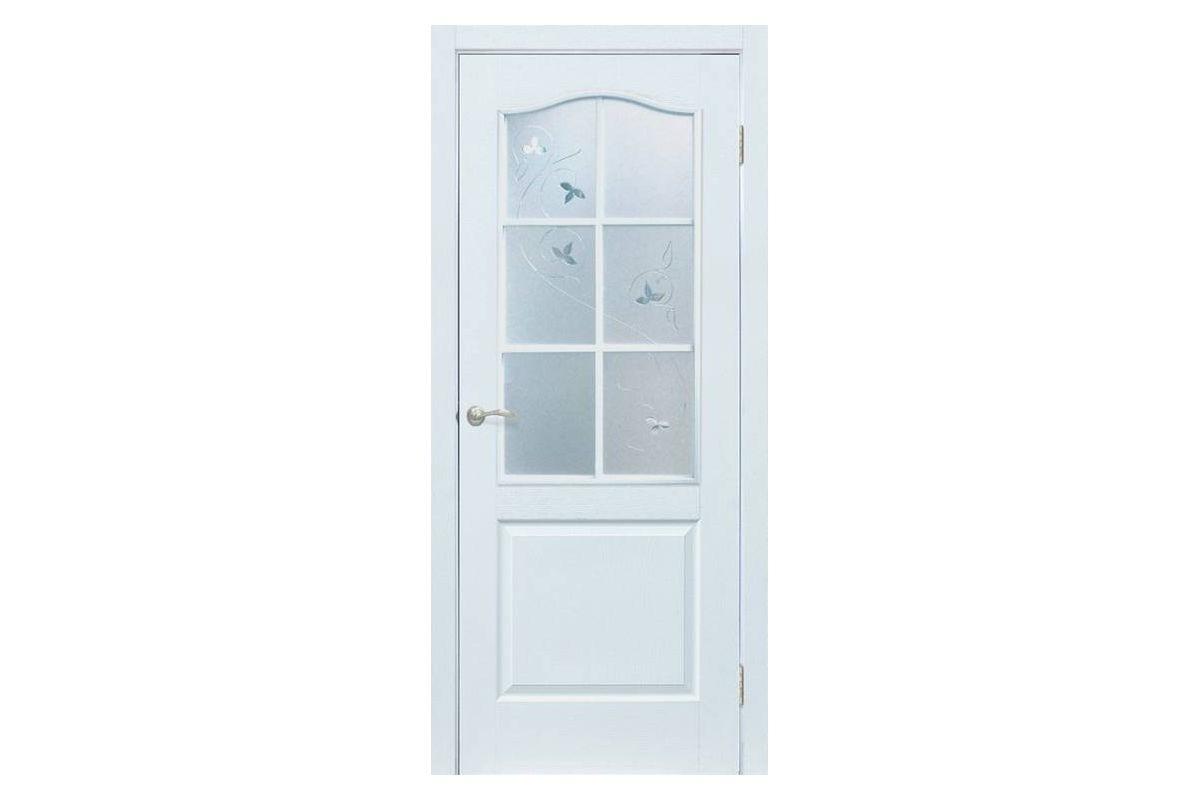 Фото Дверь ПВХ Омис Классика ПВХ СС+КР с официального сайта OSKAR™