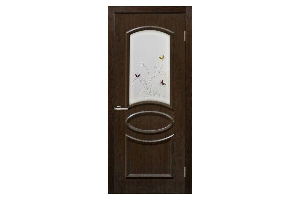 Фото Дверь ПВХ Омис Лика СС+КР  с официального сайта OSKAR™