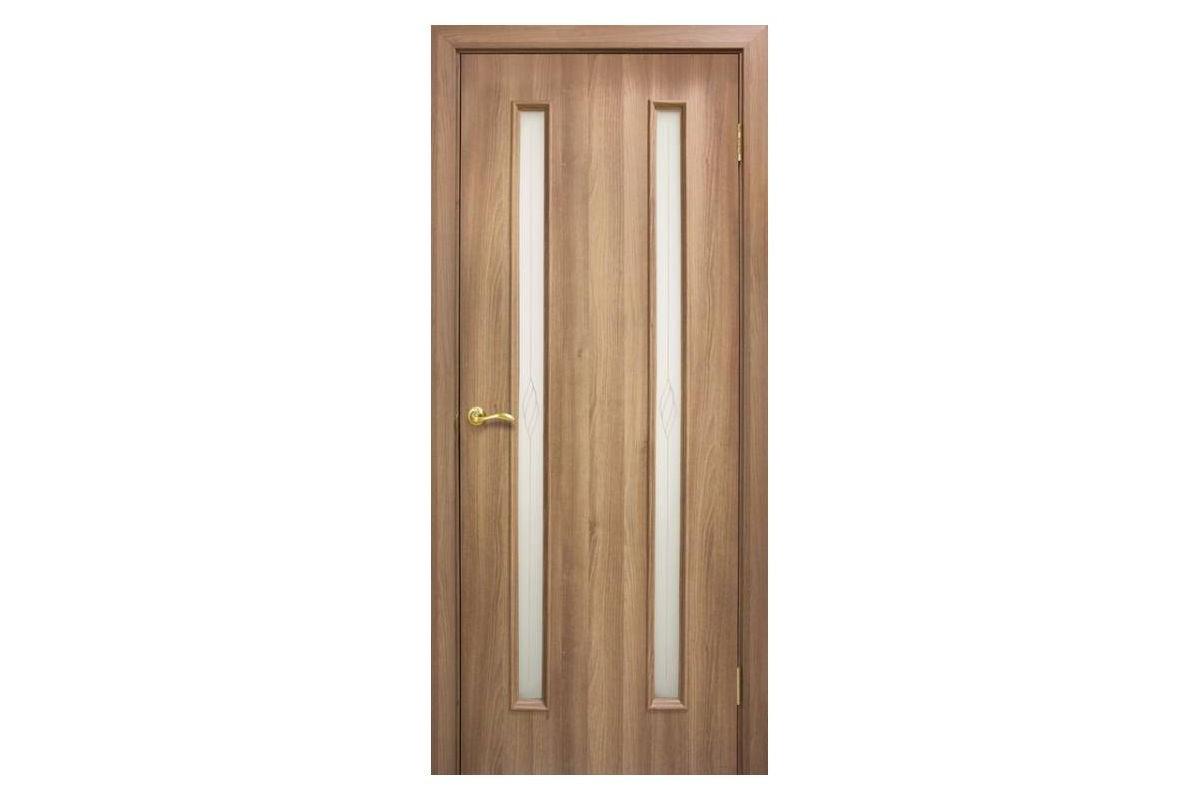 Фото Дверь ПВХ Омис Ника ПВХ СС+КР  с официального сайта OSKAR™
