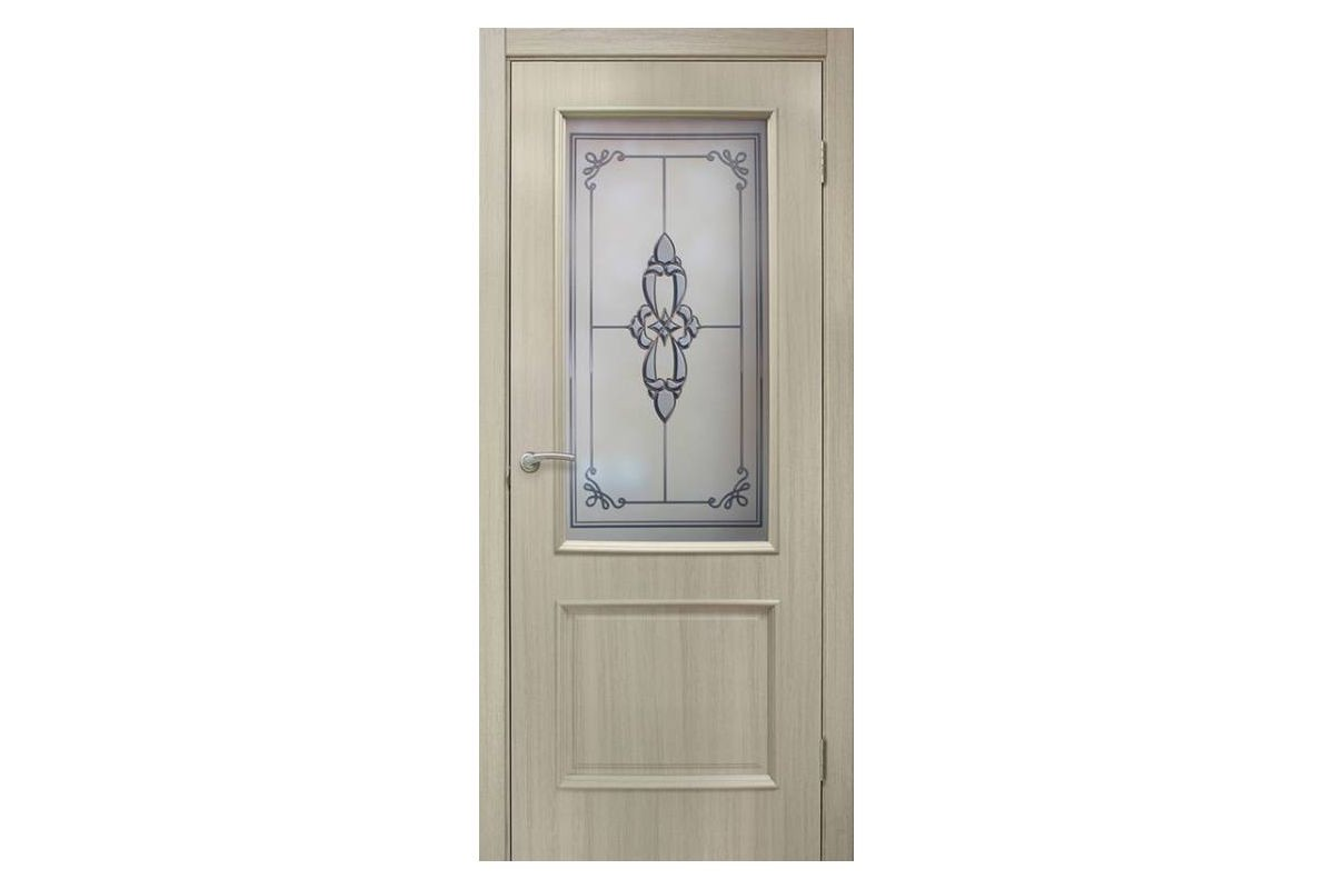 Фото Дверь ПВХ Омис Версаль СС+ФП с официального сайта OSKAR™