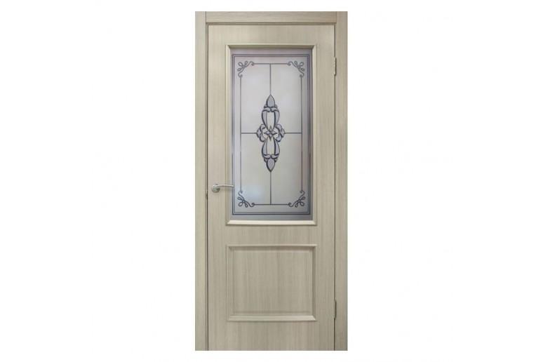 Дверь ПВХ Омис Версаль СС+ФП
