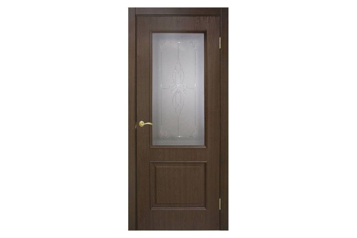 Фото Дверь ПВХ Омис Версаль СС+КР с официального сайта OSKAR™