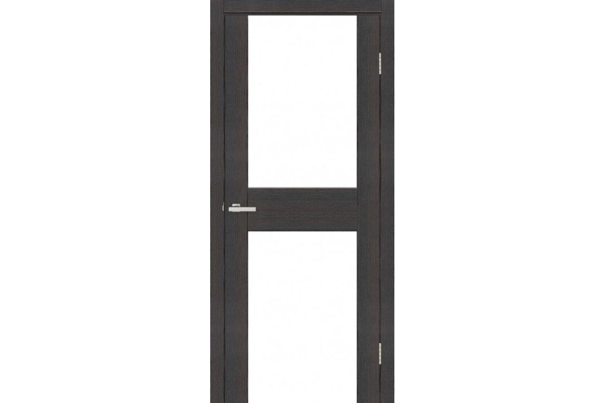 Фото Дверь Омис Cortex gloss 03 ПО триплекс черный с официального сайта OSKAR™