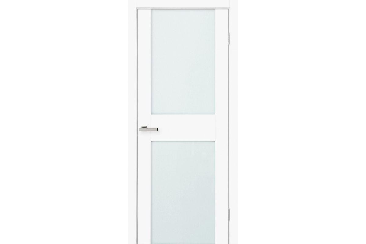 Фото Дверь Омис Cortex gloss 03 ПО триплекс молочн. с официального сайта OSKAR™
