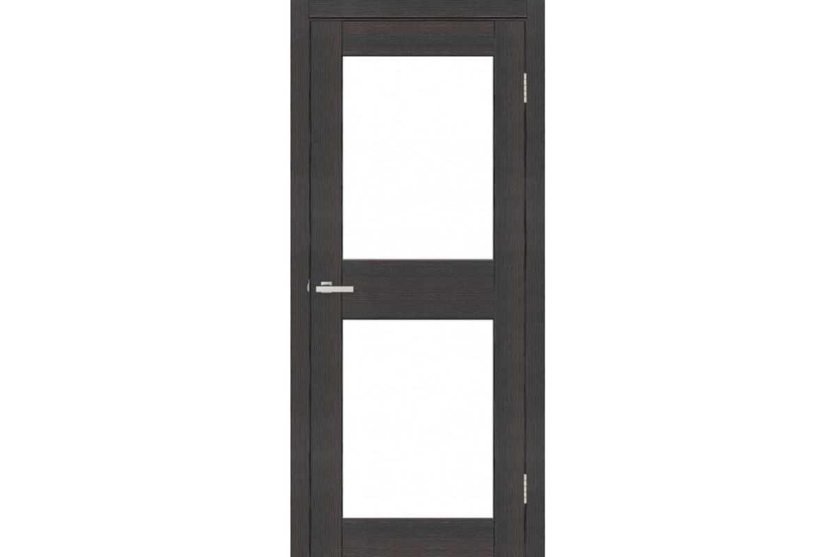 Фото Дверь Омис Cortex gloss 04 ПО триплекс черный с официального сайта OSKAR™