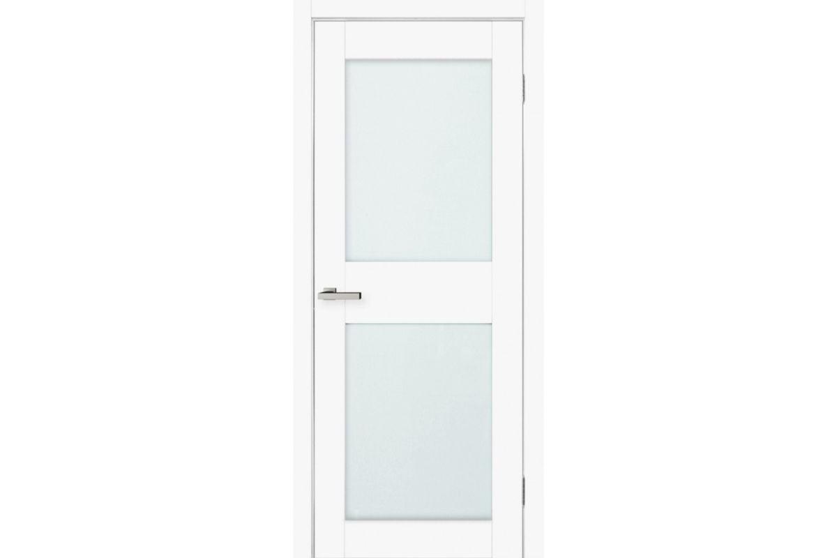 Фото Дверь Омис Cortex gloss 04 ПО триплекс молочн. с официального сайта OSKAR™