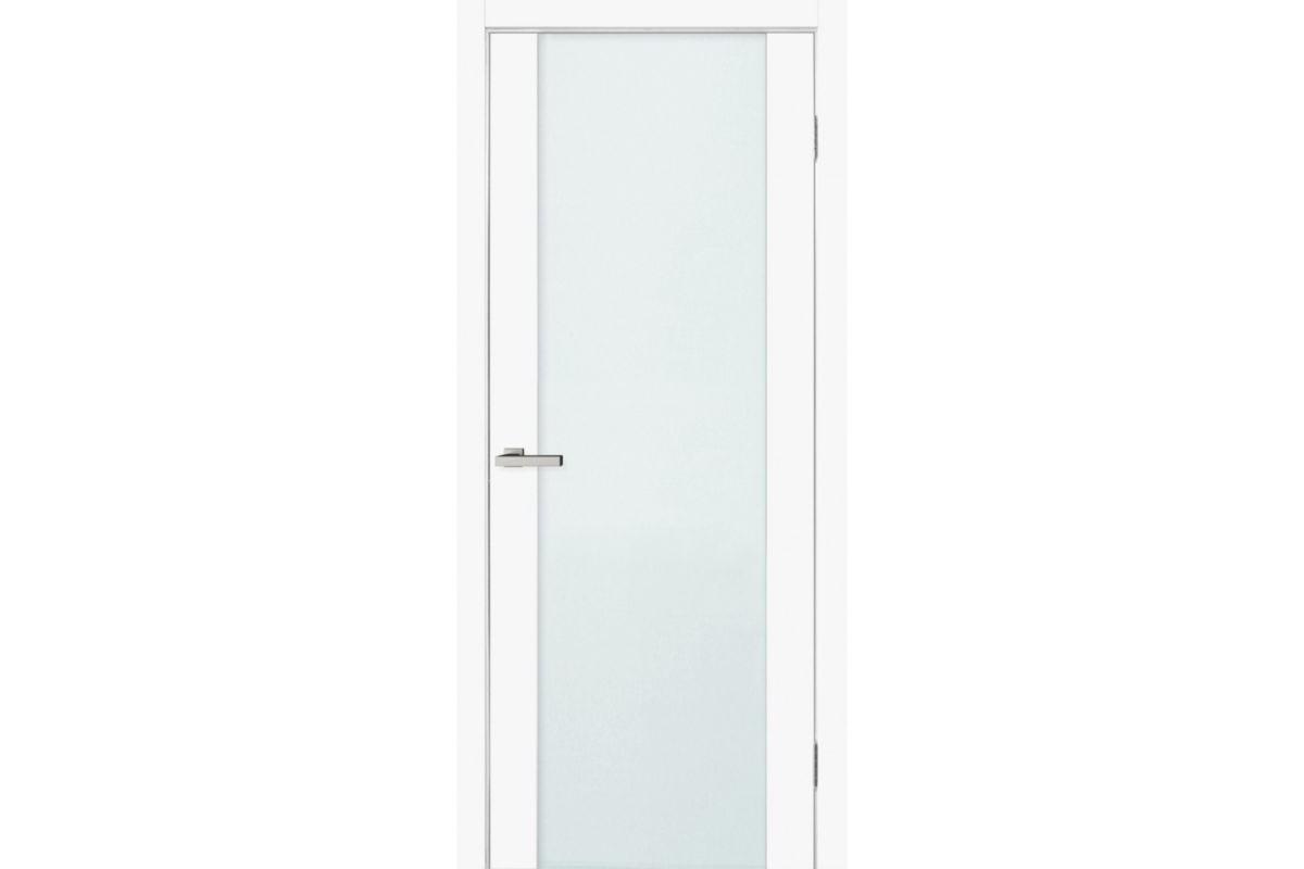 Фото Дверь Омис Cortex gloss ПО триплекс молочн. с официального сайта OSKAR™